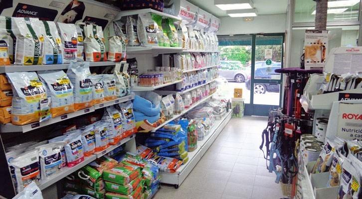 Alimentación y accessorios para mascotas